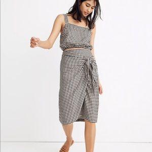 Tavik® Gingham Penny Wrap Skirt